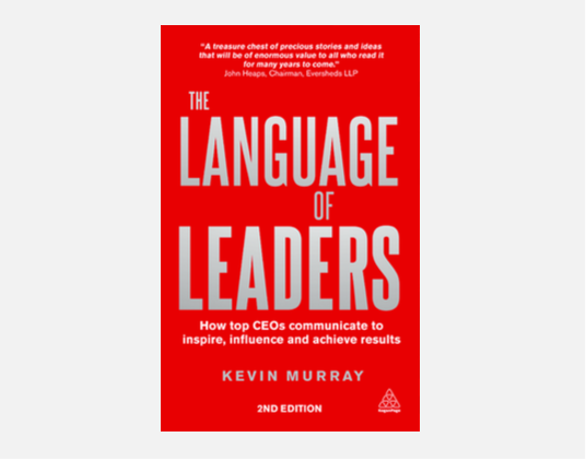 THE LANGUAGE OF LEADERS cover
