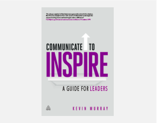 COMMUNICATE TO INSPIRE cover